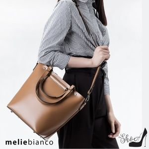 Handbags - Melie Bianco: Blanche Bag - Luxury Vegan Leather